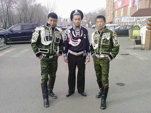 Якудзы в армии