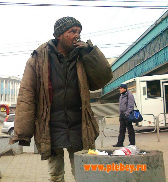 Курить возле урны - это культурно