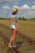 Анна Каренина на стрелке